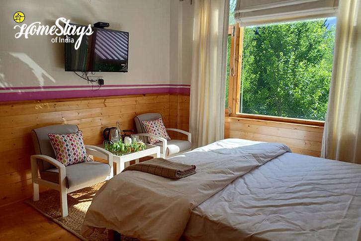 Double Room-1-17 Miles-Riverside-Homestay-Manali