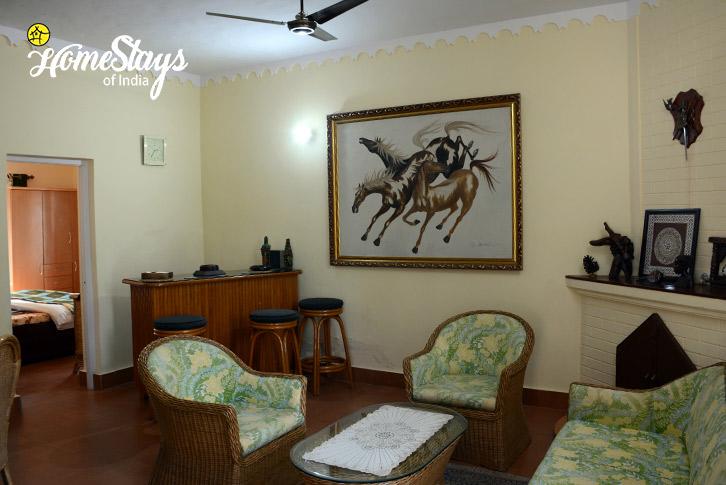 Drawing Room-Jone's Estate Homestay-Bhimtal