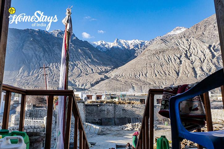 Entrance-Diskit Homestay-Nubra Valley-Ladakh