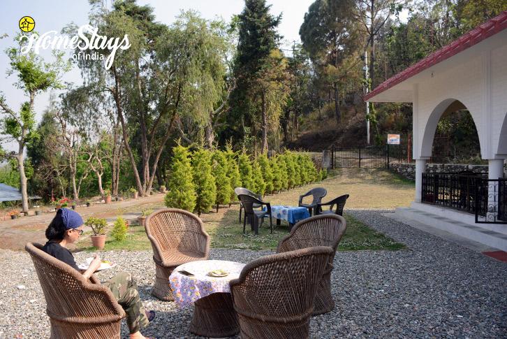 Garden-2-Jone's Estate Homestay-Bhimtal