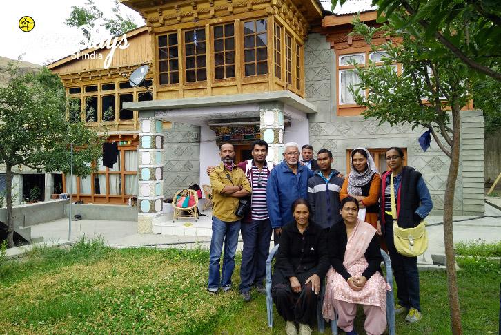 Garden_Mulbekh-Homestay-Kargil
