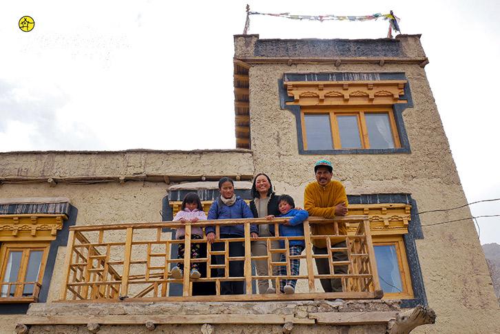 Host-Stok Eco Village Homestay-Leh
