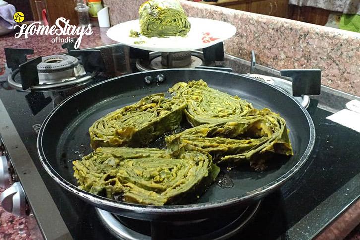 Local Cuisine-Patode-17 Miles-Riverside-Homestay-Manali