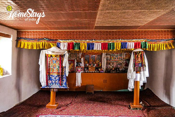 Prayer Room-Turtuk Homestay-Ladakh
