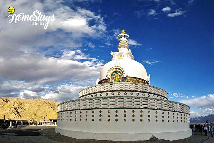 Shanti-Gompa_Skampari Homestay_Leh-Ladakh