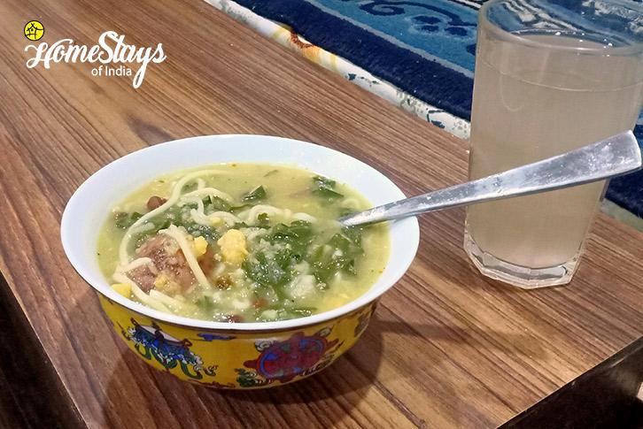 Soupy Noodles-17 Miles-Riverside-Homestay-Manali