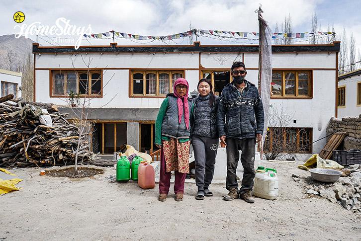 The Host-Diskit Homestay-Nubra Valley-Ladakh