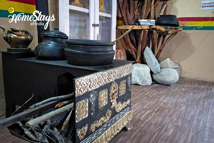 Wood Oven-Sumur-Homestay-Nubra Valley-Ladakh