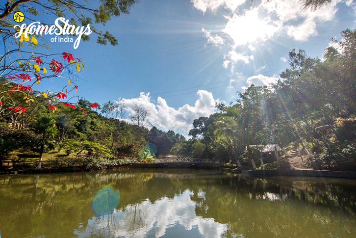 Pond-2-Umsaw Nongkharai Homestay-Ri Bhoi