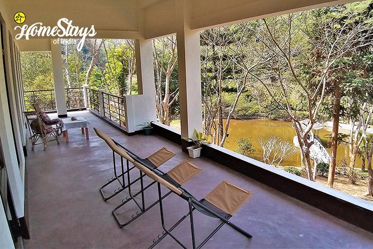 Terrace-1-Umsaw Nongkharai Homestay-Ri Bhoi