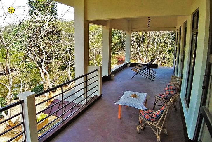 Terrace-2-Umsaw Nongkharai Homestay-Ri Bhoi