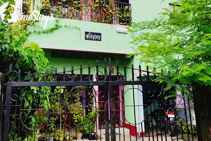 Main Entrance_Uzanbazar Homestay-Guwahati
