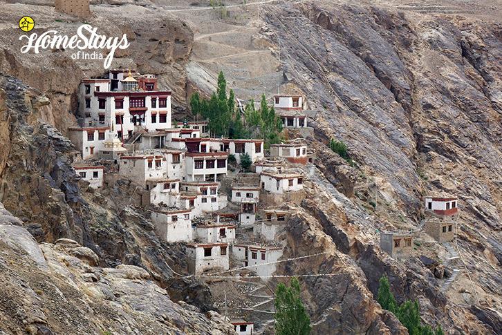 Monastery_Skurbuchan Homestay-Ladakh