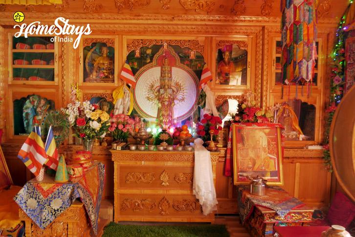 Prayer Hall-2_Skurbuchan Homestay-Ladakh