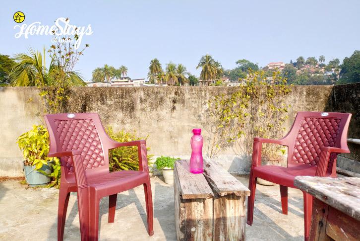 Terrace_Uzanbazar Homestay-Guwahati