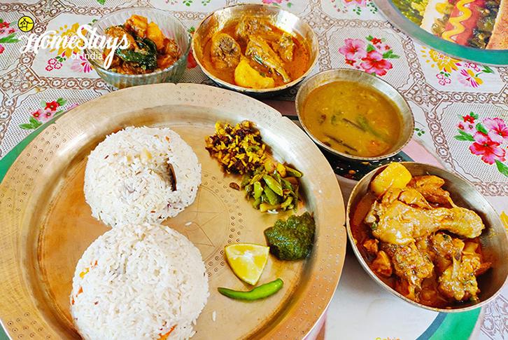 Tradition Food_Uzanbazar Homestay-Guwahati