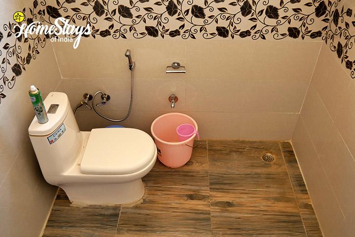 Bathroom-2-Thiksey Homestay-Ladakh