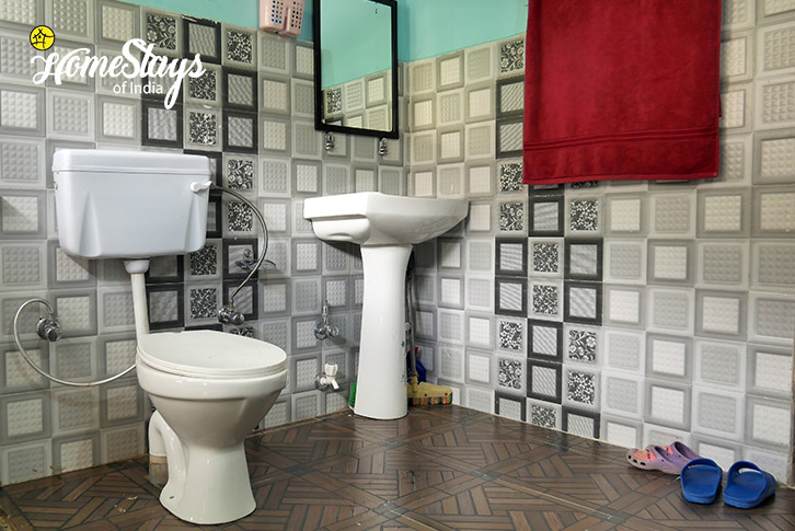 Bathroom-Upshi Riverside Homestay