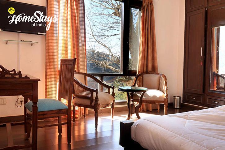 Bedroom3_Kanlog Boutique Homestay-Shimla