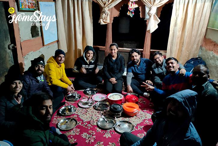 Dinner_Raithal Homestay-Uttarkashi
