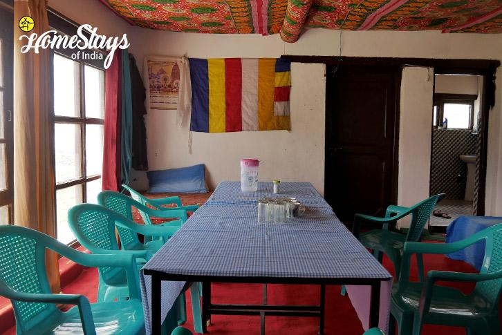 Dinning-Merak Homestay-Pangong