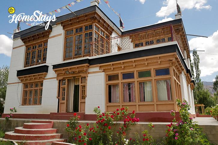 Exterior-Thiksey Homestay-Ladakh