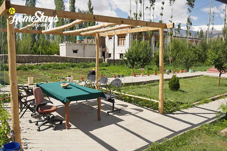Garden-3-Thiksey Homestay-Ladakh