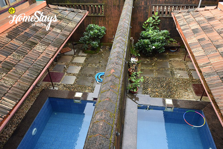 Swimming Pool-Ganesha Homestay-Gokarna