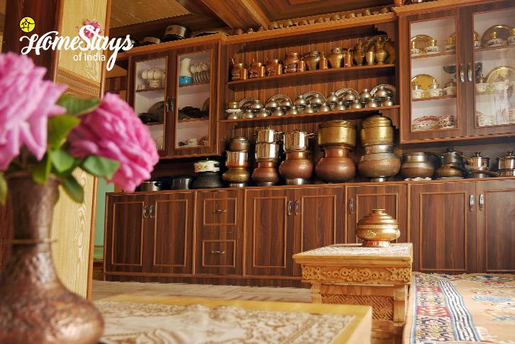 Traditional Kitchen-Thiksey Homestay-Ladakh