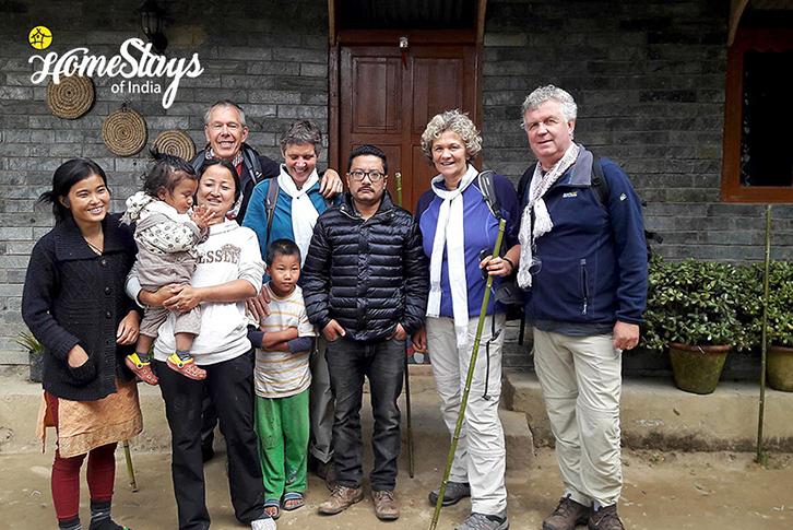 Host-&-Guest_Khecheopalri-Homestay-Sikkim