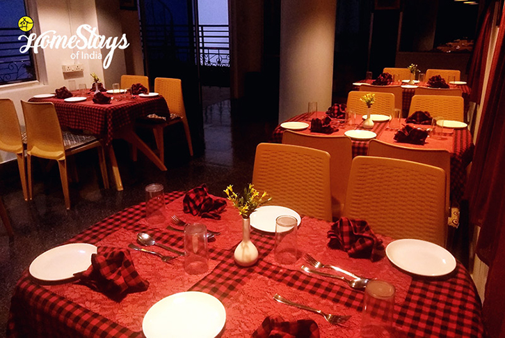 RoofTop Restaurant_Chandmari Homestay-Gangtok